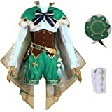 Genshin Impact Cosplay Costume Adult Venti Uniform Suits for Halloween Christmas Party