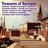 Treasures of the Baroque by Wurttemburg Chamber Orchestra