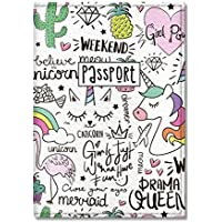 Cute Passport Cover for Women and Men, by Govinda Crafts, Eco Leather Passport Holder