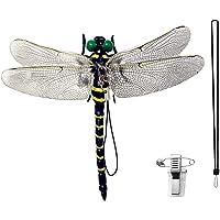 【オニヤンマとほぼ同じサイズ12CM】 オニヤンマ おにやんま 12cm級 虫避け 虫避け トンボ蜻蛉 PVC 昆虫 動…