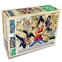 One Piece Jigsaw Puzzle - 108pcs Treasure Map