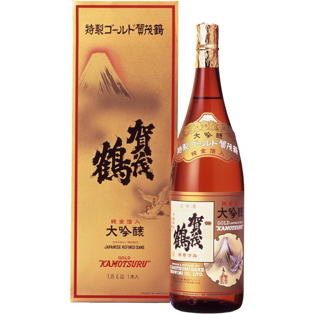 加茂鶴 特製ゴールド 大吟醸 瓶 1.8L
