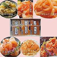 日本海塩辛珍味シリーズ (新潟の味6点セット E-16)