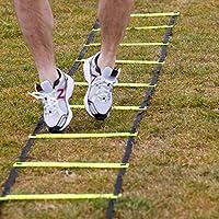 フィットネス健康Pro速度トレーニングラダーFast Footwork Agility Drills Aid