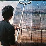 ソフトクリヤー ビニールハウス 農ビ 農PO の 竿付き 洗浄ブラシ うつぎ産業 代不