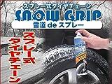 スプレー式タイヤチェーン ノルウエー製オリジナルSnow Grip