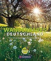 Wanderbildband Wanderbares Deutschland: Mit grosser Deutschlandkarte zum Herausnehmen und GPX-Tracks zum Download.