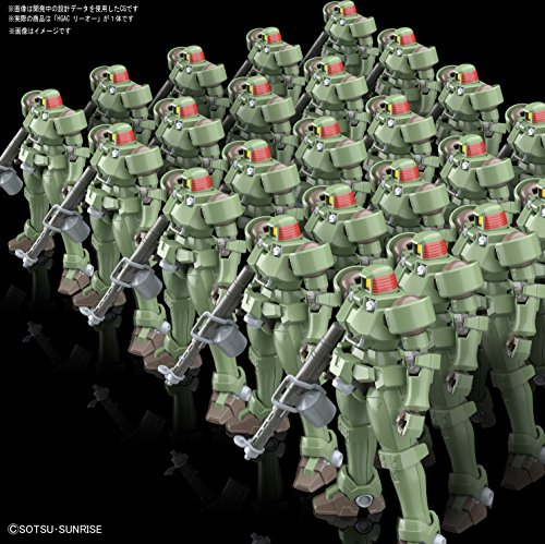 HGAC -GUNPLA EVOLUTION PROJECT- 新機動戦記ガンダムW リーオー 1/144スケール 色分け済みプラモデル
