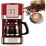 BRIDGEGUO Electronic Automatic Coffee Maker Coffee Machine Drip Espresso Machine Espresso Maker Cafe Latte Cappuccino Tea, 60