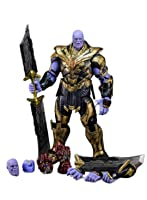 Gogotoy/tony 1/12スケール アクション フィギュア SHF エンドゲーム サノス/Thanos 改造用 ヘッド 武器パーツセット ダメージ版