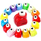LoveInUSA Punch Craft Set, 10 Pack Hole Punch Shapes Hole Punch Shape Scrapbooking Supplies Shapes Hole Punch Great for Craft