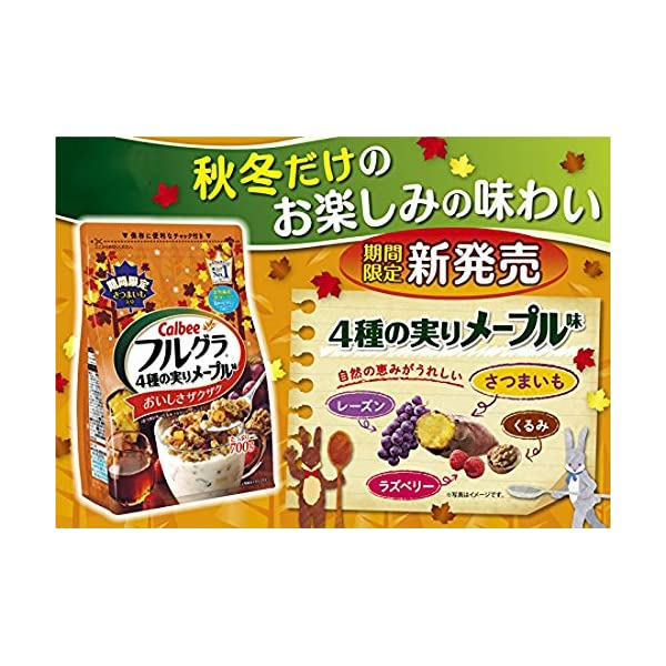 カルビー フルグラ 4種の実りメープル味 700gの紹介画像3