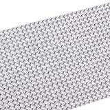 アクセサリ、SODIAL(R) 918 x 2ミリラインストーン粘着性ダイヤモンドカーステッカー