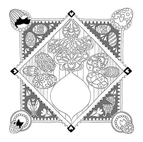 世界一周 メルヘンの旅 a fairy tale world  かわいい楽しいぬり絵ブック