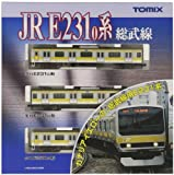 TOMIX Nゲージ92343?e231系通勤電車(総武線)基本3-carセット