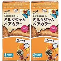 【まとめ買い】LUCIDO-L (ルシードエル) ミルクジャムヘアカラー #きゃらめる×2個パック (医薬部外品)