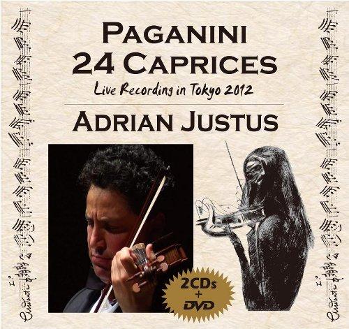 パガニーニ: カプリス全24曲ライヴ