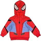 Marvel Little Boys' Spiderman Spidey Suit Hoodie
