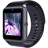 CNPGD [U.S. Warranty] All-in-1 Smartwatch and Watch Cell Phone Black for iPhone, Android, Samsung, Galaxy Note, Nexus, HTC, S