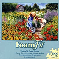 Foam Fit Moveable 1000 Piece FoamパズルWhere the Butterflies Go、Carla D 'aguanno