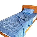 【さらっとクール】 ひんやり 接触冷感 布団セット シングル 冷感 布団3点セット 肌掛け布団 敷きパッド 枕パット