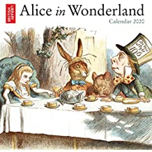 British Library - Alice in Wonderland 2020 Calendar