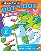 Extreme Dot to Dot Stickers 1 by Mindware [並行輸入品]