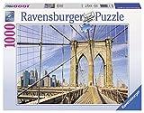 1000ピース ジグソーパズル Auf der Brooklyn Bridge (70 x 50 cm)