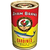 Sardines in Tomato Sauce | Large Pieces | No Preservatives | Halal & Healthier Choice | Fish | Natural Omega 3 Source | Calci