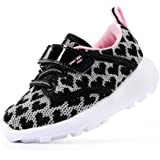 EIGHT KM Boys and Girls Toddler Kids EKM7023 Lightweight Breathable Fabric Trainers School Shoes