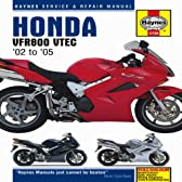Honda VFR800 VTEC Superbike: 2002 thru 2009 (Haynes Service & Repair Manual)