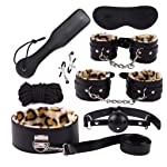 SLH 8-Piece Bundle Binding Police Toys, Police Handcuffs and Whistle Police Costumes for Kids and Boys Party Like Costume...