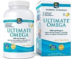 Nordic Naturals Ultimate Omega, softgels, 180ct