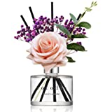 Cocod'or Rose Flower Reed Diffuser, French Lavender Reed Diffuser, Reed Diffuser Set, Oil Diffuser & Reed Diffuser Sticks, Ho