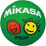 ミカサ(MIKASA)プレイグラウンドボール (幼児向け)直径約13㎝ 重量150~180g 緑 P500