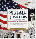 コロンビア 50 State Commemorative Quarters Collector's Map: Including the District of Columbia and the U.s Territories