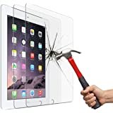 Screen Protector for iPad 2 3 4 (Oldest Models), Jusney Tempered Glass Film Compatible for Apple iPad2 / iPad3 / iPad4 (NOT f