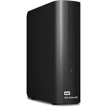 WD HDD 外付けハードディスク 4TB Elements Desktop USB3.0 WDBBKG0040HBK-JESN / 2年保証