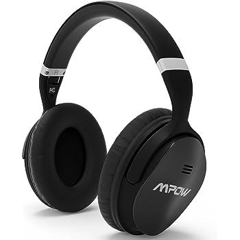 Mpow H5 Bluetooth ノイズキャンセル ヘッドホン ワイヤレス ノイズキャンセリング ヘッドセット MP-BH143: 高音質/ブルートゥース対応 最大18時間連続再生 密閉型 マイク付き 通勤 通学に最適 日本語説明書付き MP-BH143AD 改良型