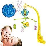 Strategy ベッドメリー ベビーベッドおもちゃ 赤ちゃんメリー ベッドオルゴール 360度回転 音楽 新生児 おもちゃ ベビーベッド用 知育寝具 簡単に眠り 出産祝い