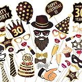 30th Birthday写真ブース小道具