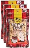 カリタ Kalita コーヒーフィルター かんたんドリップ 30枚入り×3個セット #08029