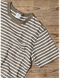 (コーエン) COEN tシャツ スラブボーダーポケットTシャツ 75256038023 メンズ