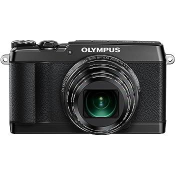 OLYMPUS デジタルカメラ STYLUS SH-1 ブラック 光学式5軸手ぶれ補正 光学24倍&超解像48倍ズーム SH-1 BLK