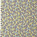 手芸のいとや 生地 和調プリント布 いろは小紋 矢絣 パープル 生地幅-約110cm×50cmカット 綿100
