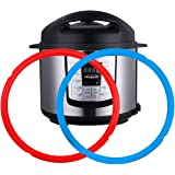 Silicone Sealing Rings for Instant Pot 6 Quart 2 Pack BPA-Free Food-grade Silicone Seal Ring Replacement Accessory for 5/6 qt