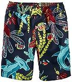 [ティコレクション]子供服 キッズ 水着 男の子 ボーイズ インポート UPF40+ ネイビー 海の中  ボーイズ