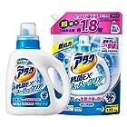 【さらに30%OFFも!】アタック抗菌EXスーパークリアジェル 洗濯洗剤 液体 本体+詰め替え1.35㎏が激安特価!