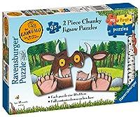Ravensburger Gruffalo 9 x 2pc Shaped Jigsaw Puzzles