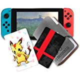 NFC Tag Game Cards for Super Smash Bros Ultimate Switch - 20pcs with Cards Holder